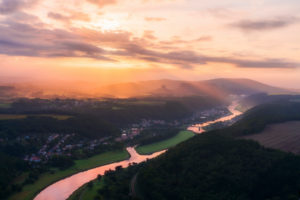 Sunrise over Bad Schandau